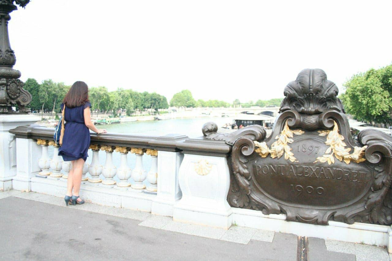 Photo dos quartier Assemblée pont Alexandre III