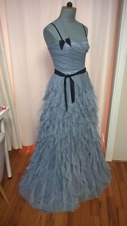 Robe Naf Naf gris bleu métallisé Vinted